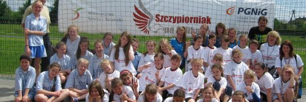 DOBRZEŃ WIELKI| dziewczynki | turniej 19.05.2014 | OPOLSKIE