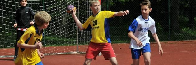 Turniej chłopców w Łodzi